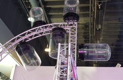Lighting Rain Protection 360 Dome